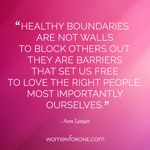 healthy boundries quote
